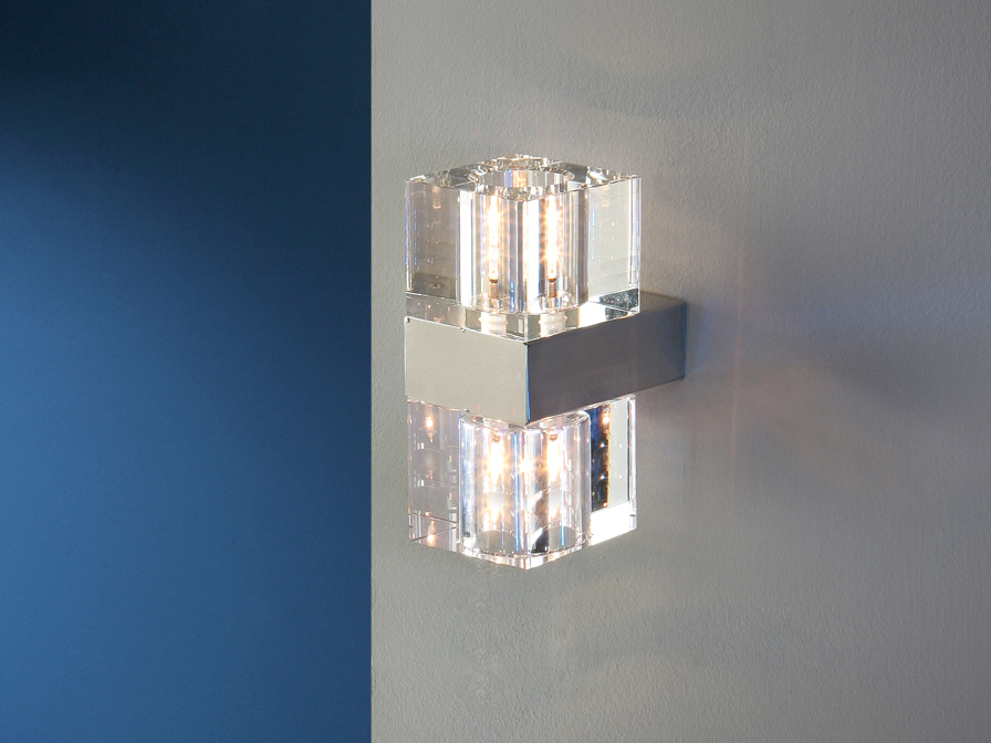 Schuller Cubic fali lámpa