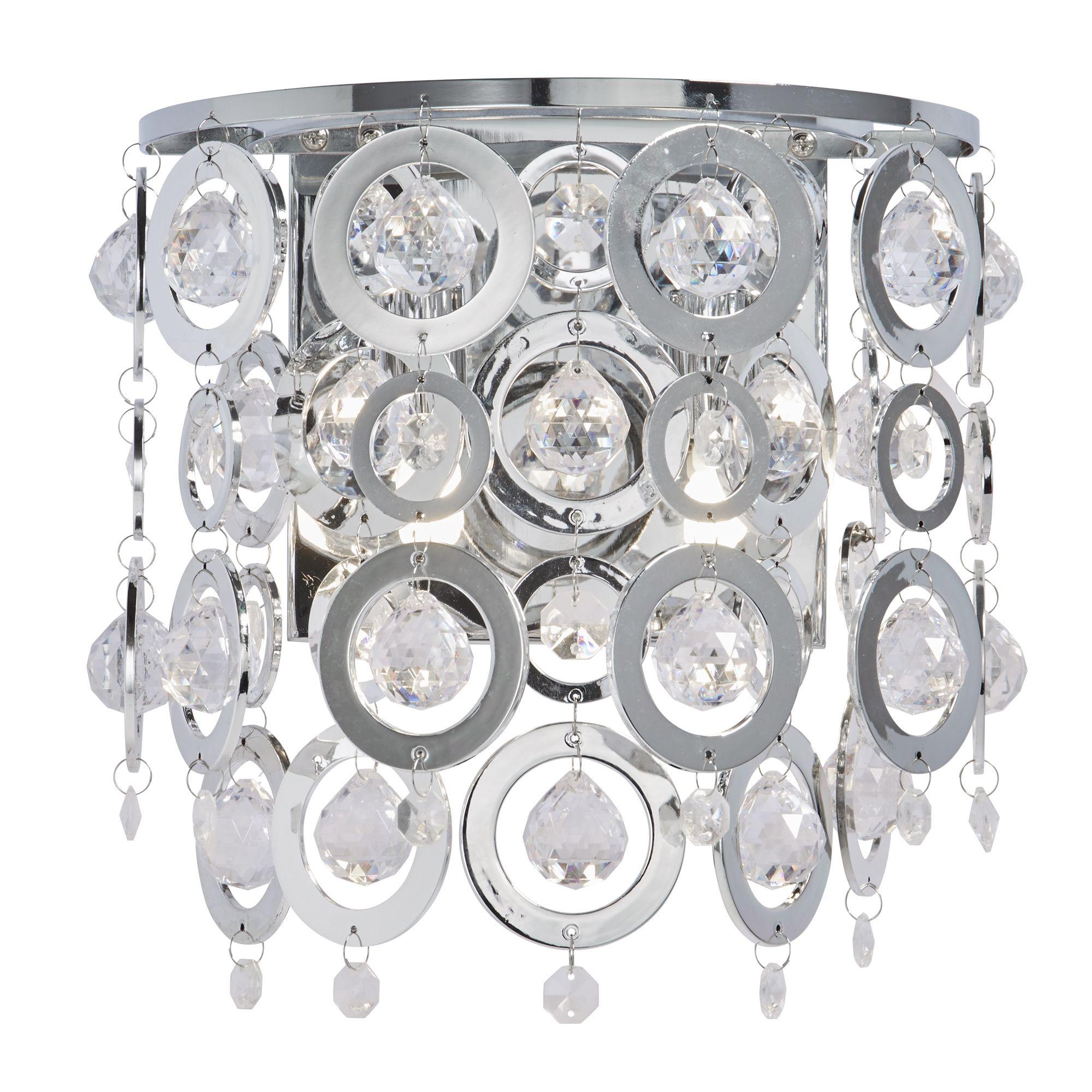 Searchlight Nova kristály lámpa