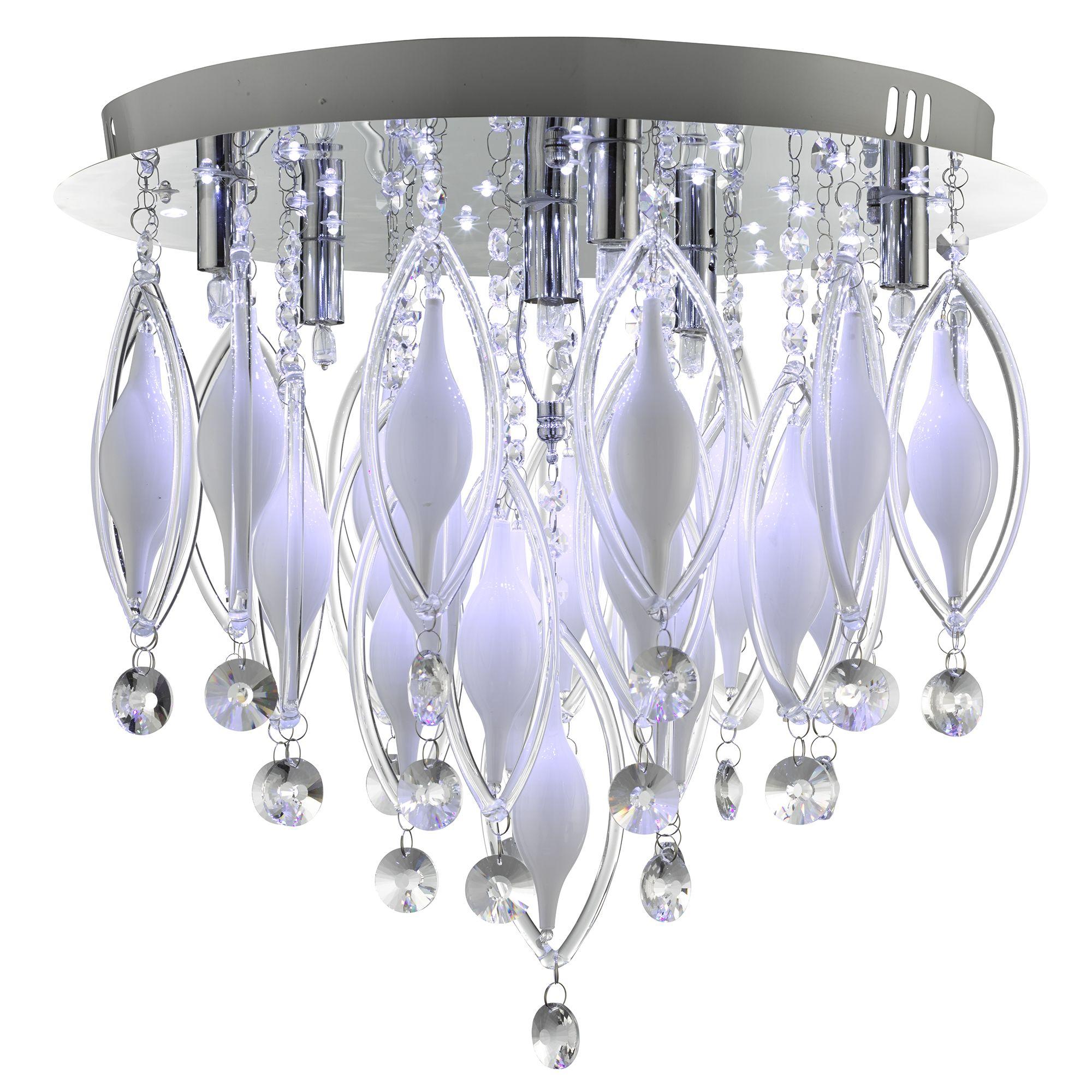 Searchlight Spindle kristály lámpa