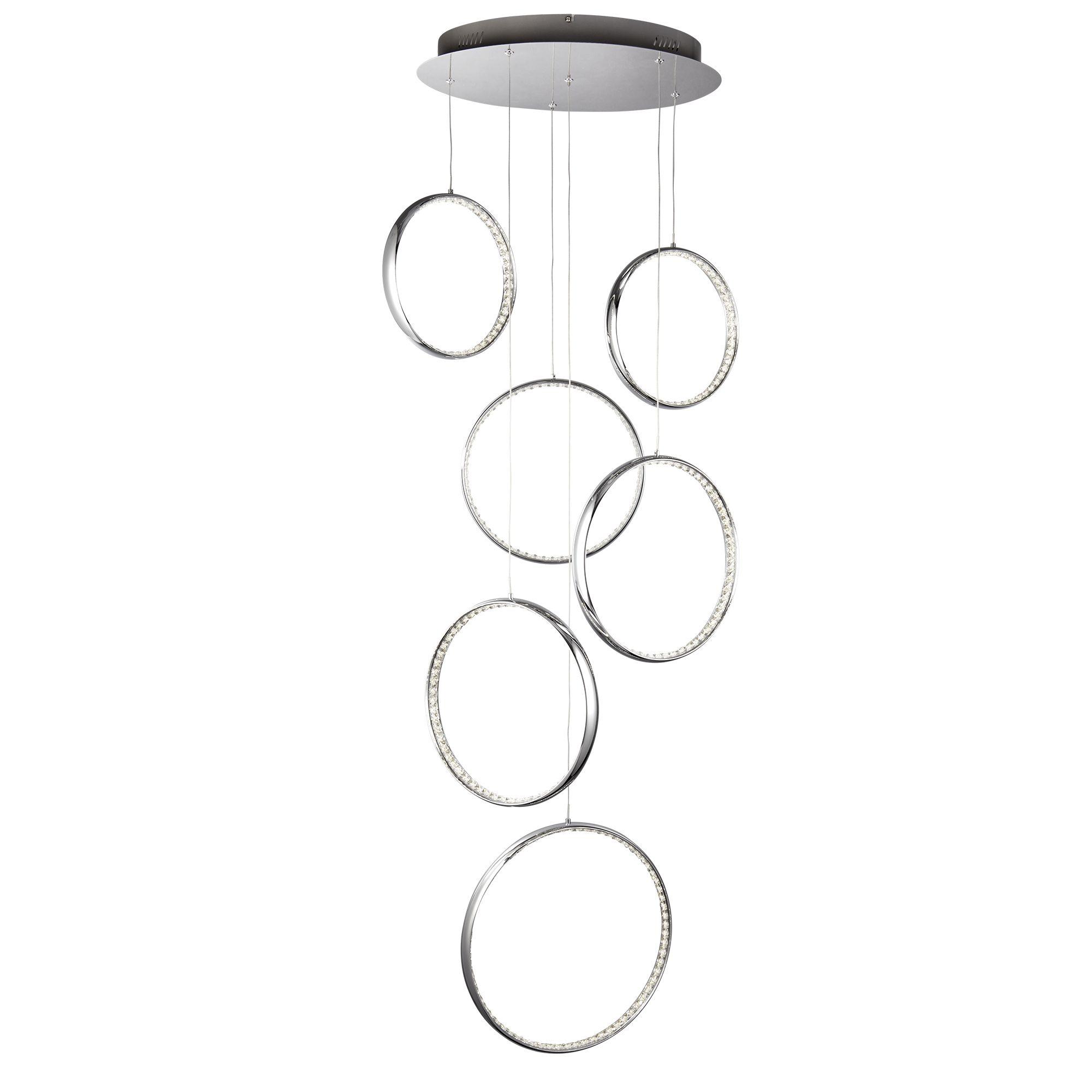 Searchlight Rings kristály lámpa
