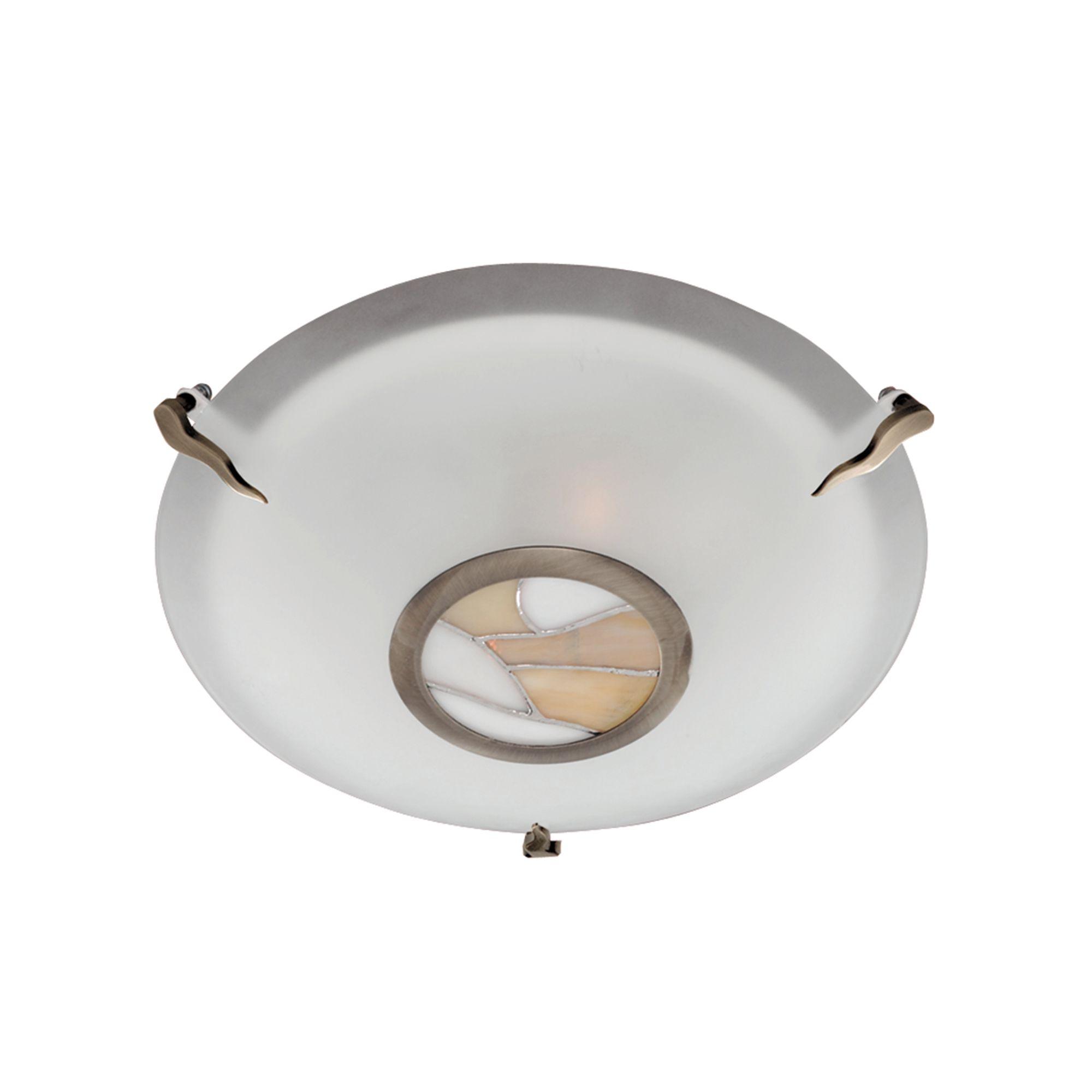 Searchlight tiffany mennyezeti lámpa