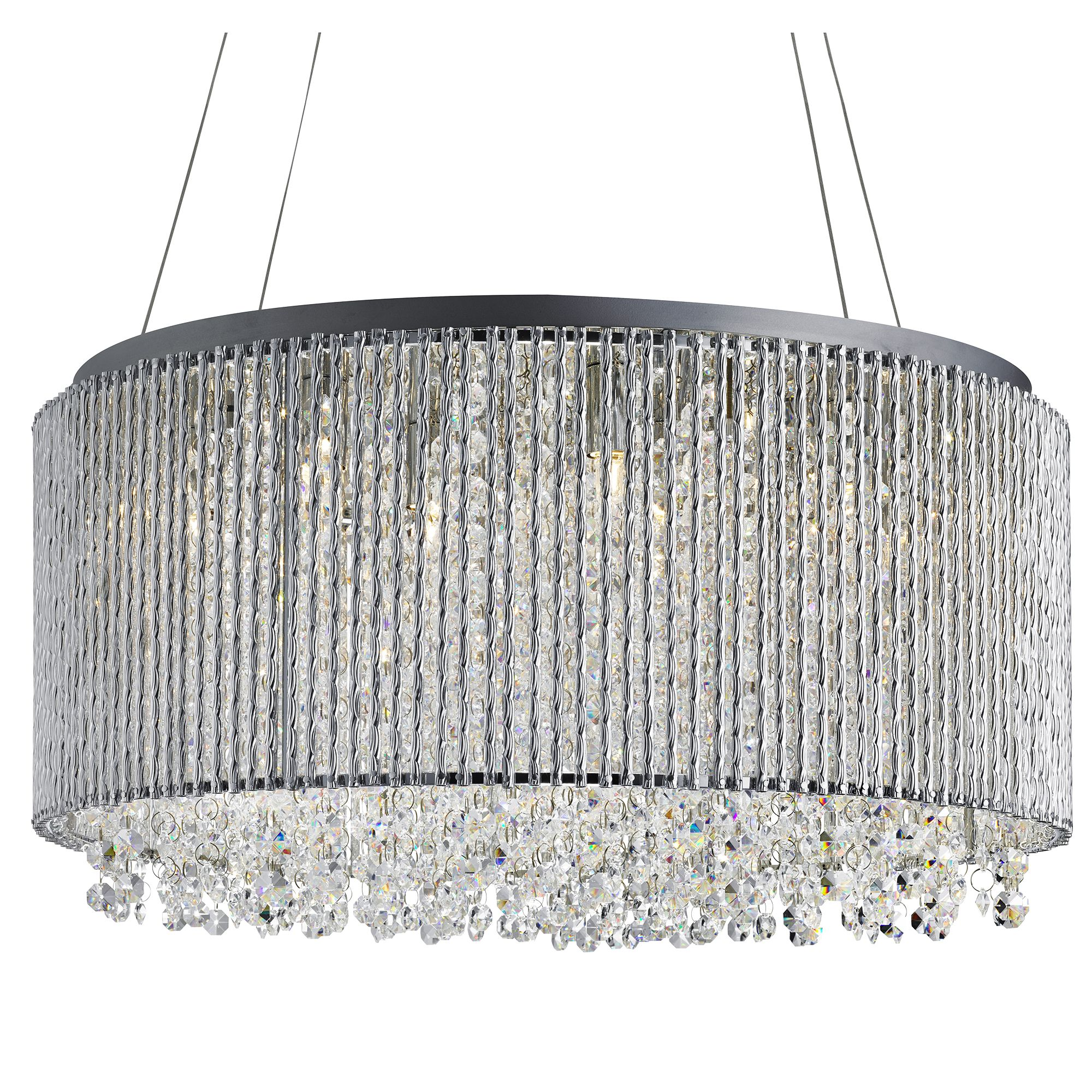 Searchlight Beatty kristály lámpa