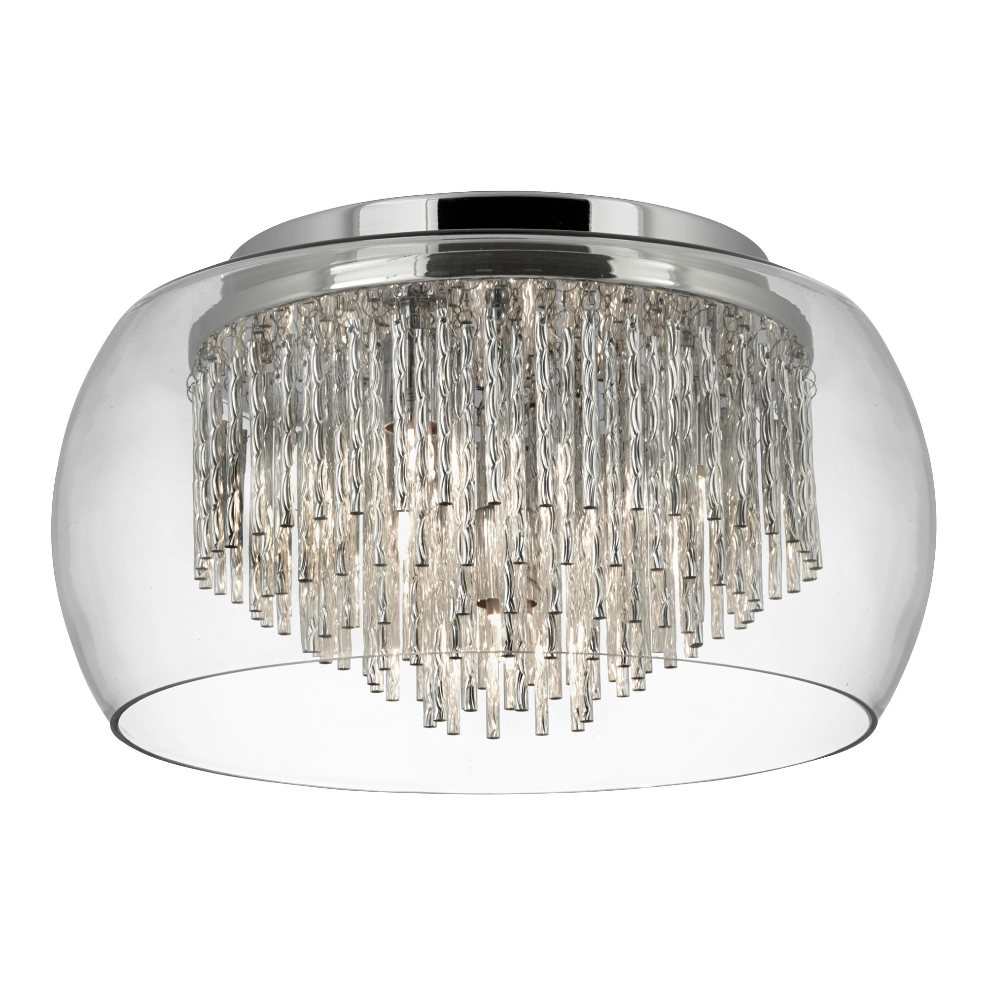 Searchlight Curva kristály lámpa