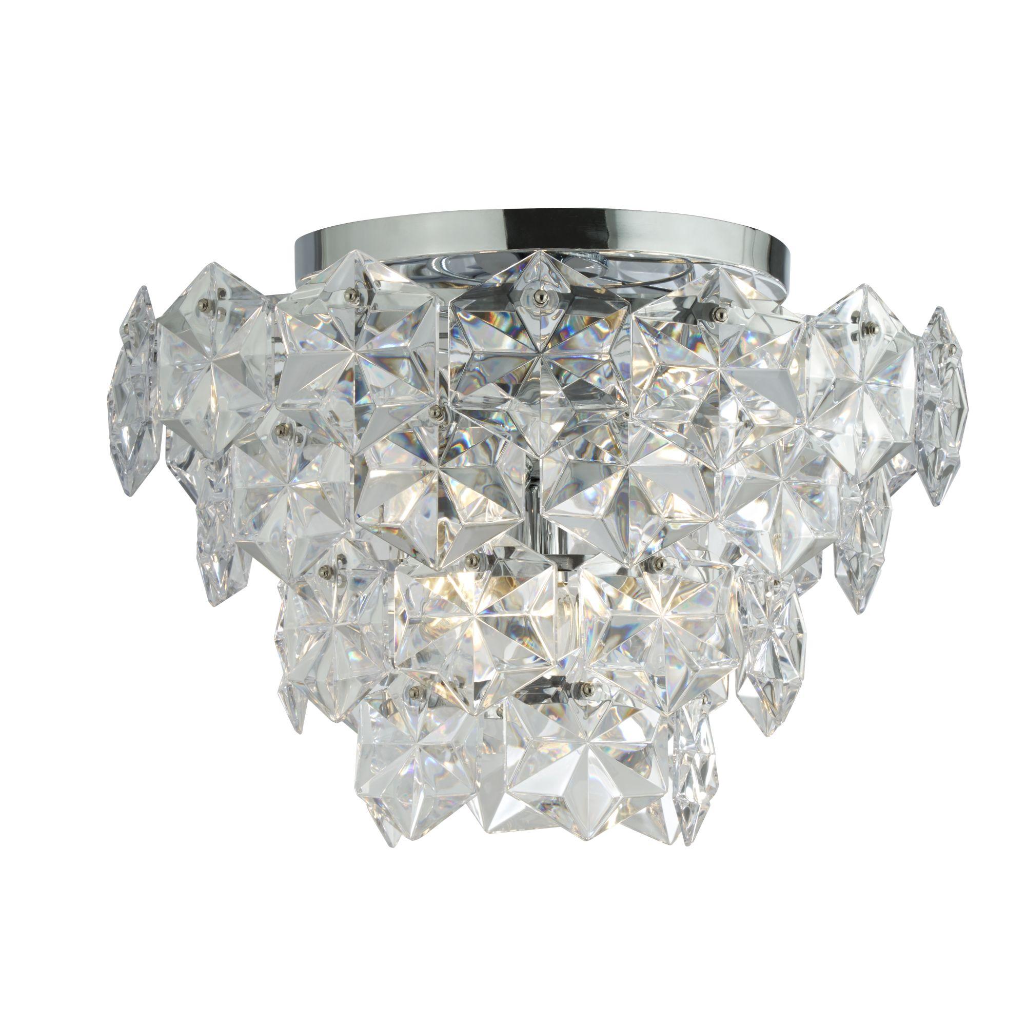 Searchlight Tiles II kristály lámpa