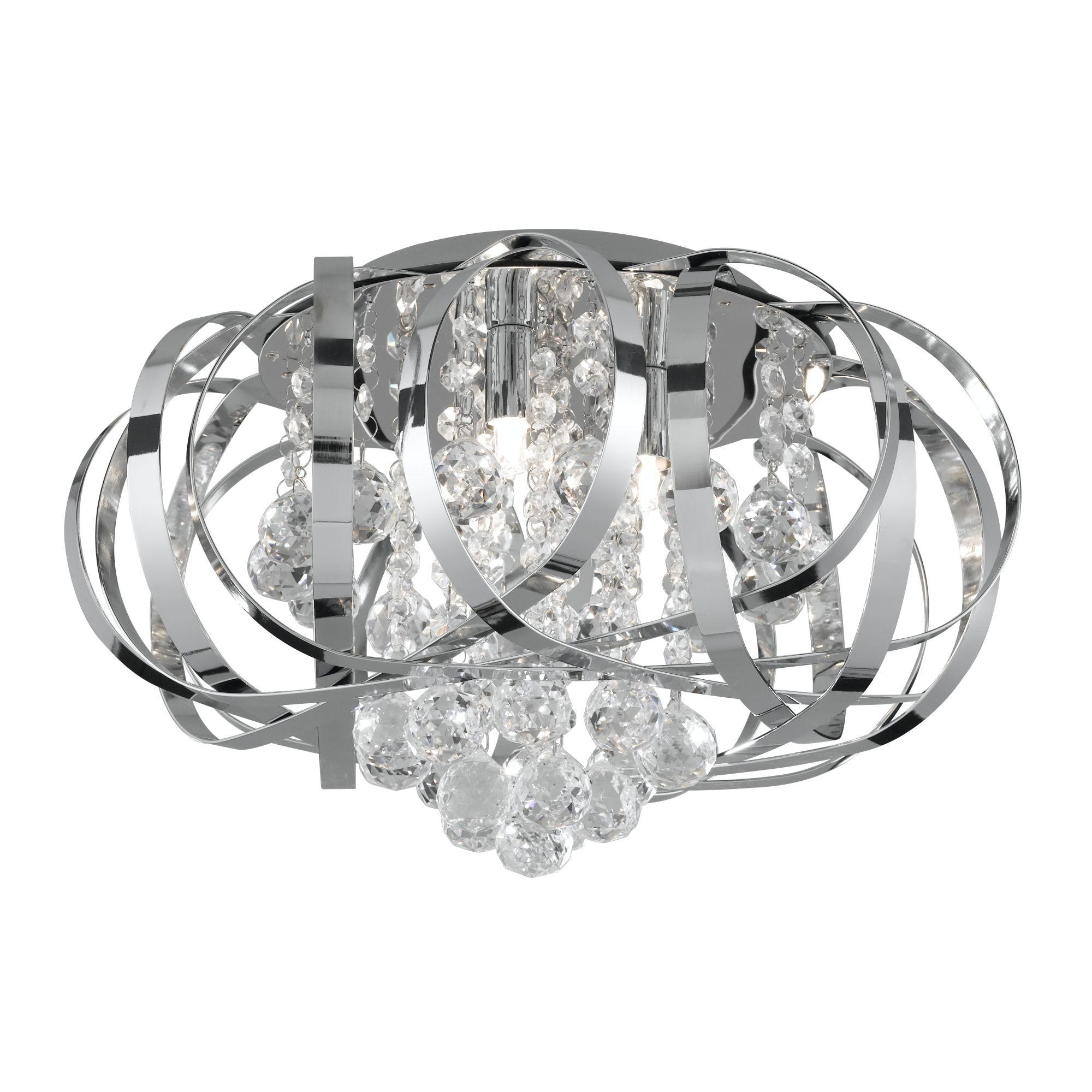 Searchlight Tily kristály lámpa
