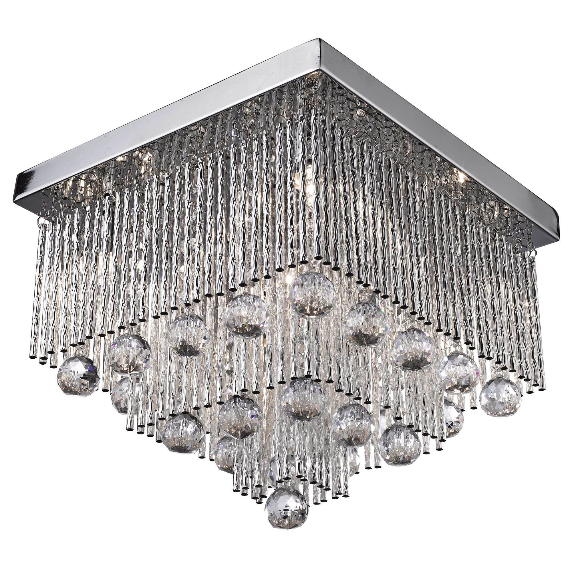 Searchlight Beatrix kristály lámpa