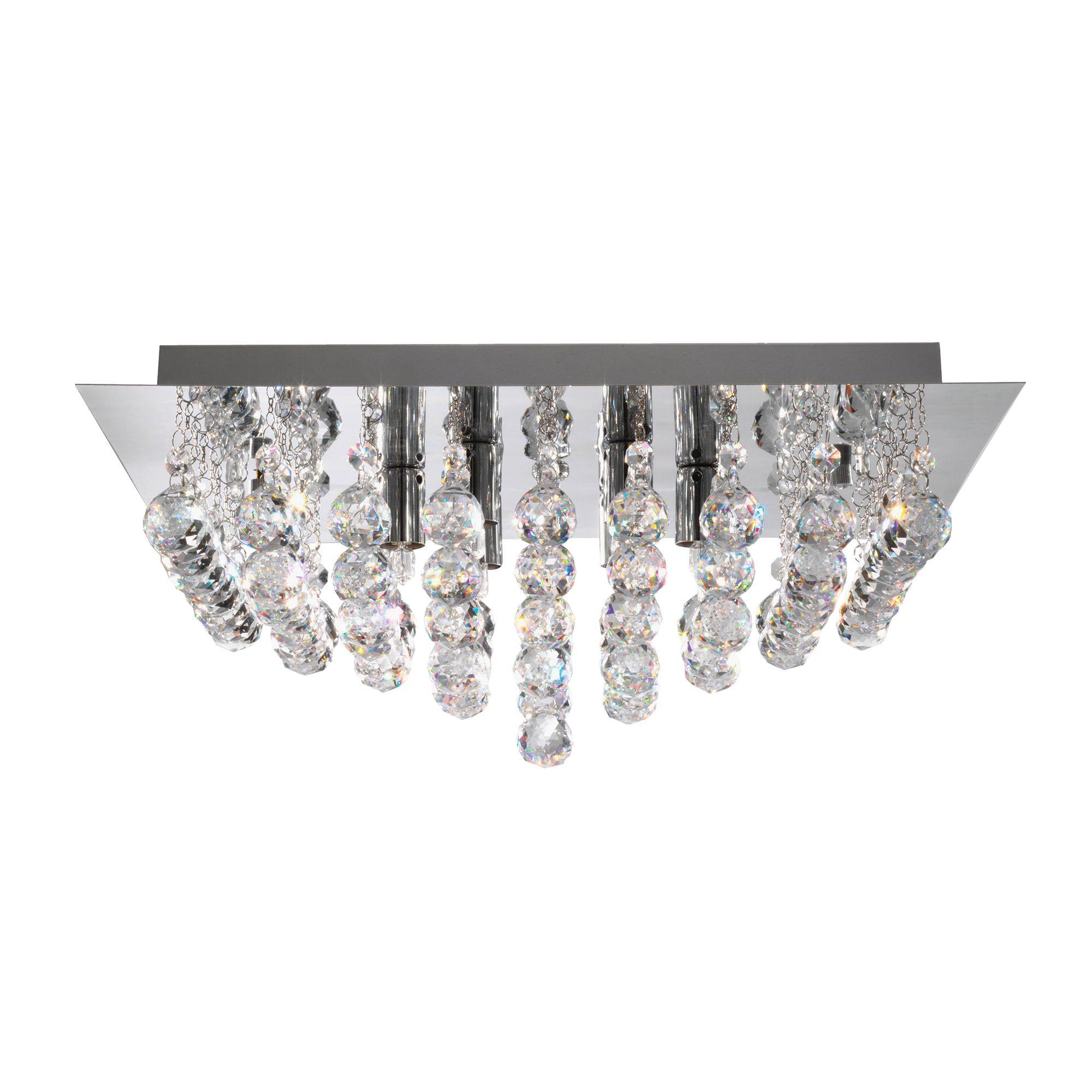 Searchlight Hanna kristály lámpa