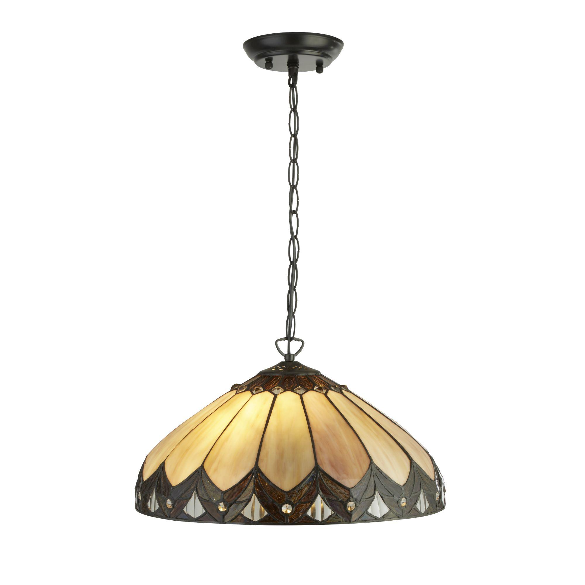 Searchlight Pearl tiffany lámpa