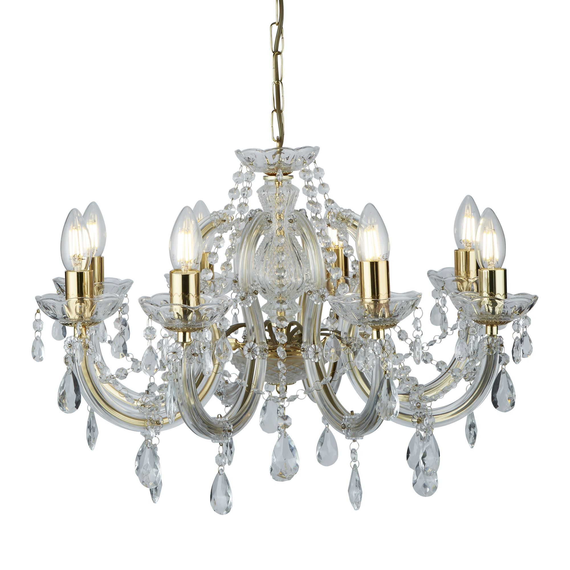 Searchlight Marie Therese kristály lámpa