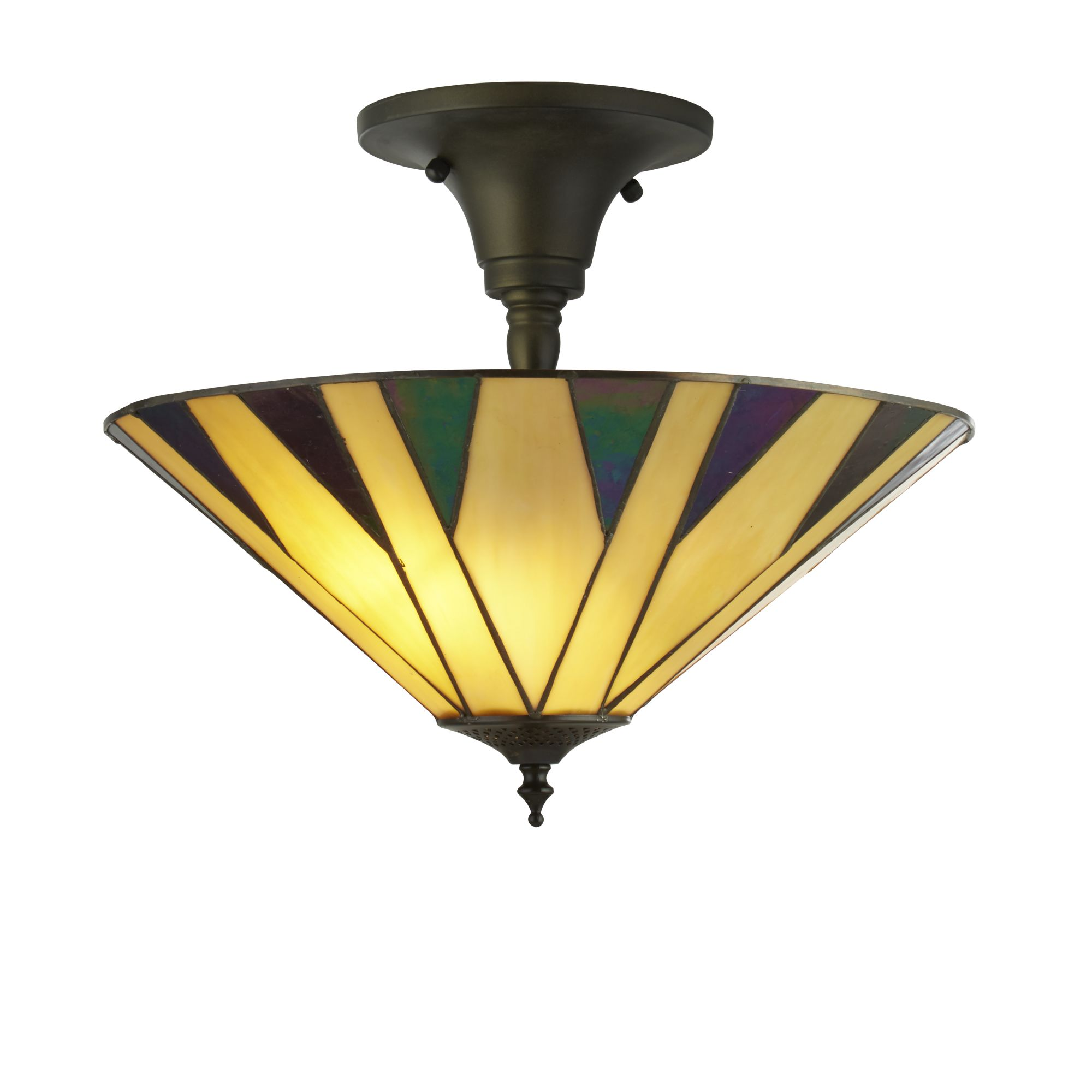 Searchlight Charleston tiffany lámpa