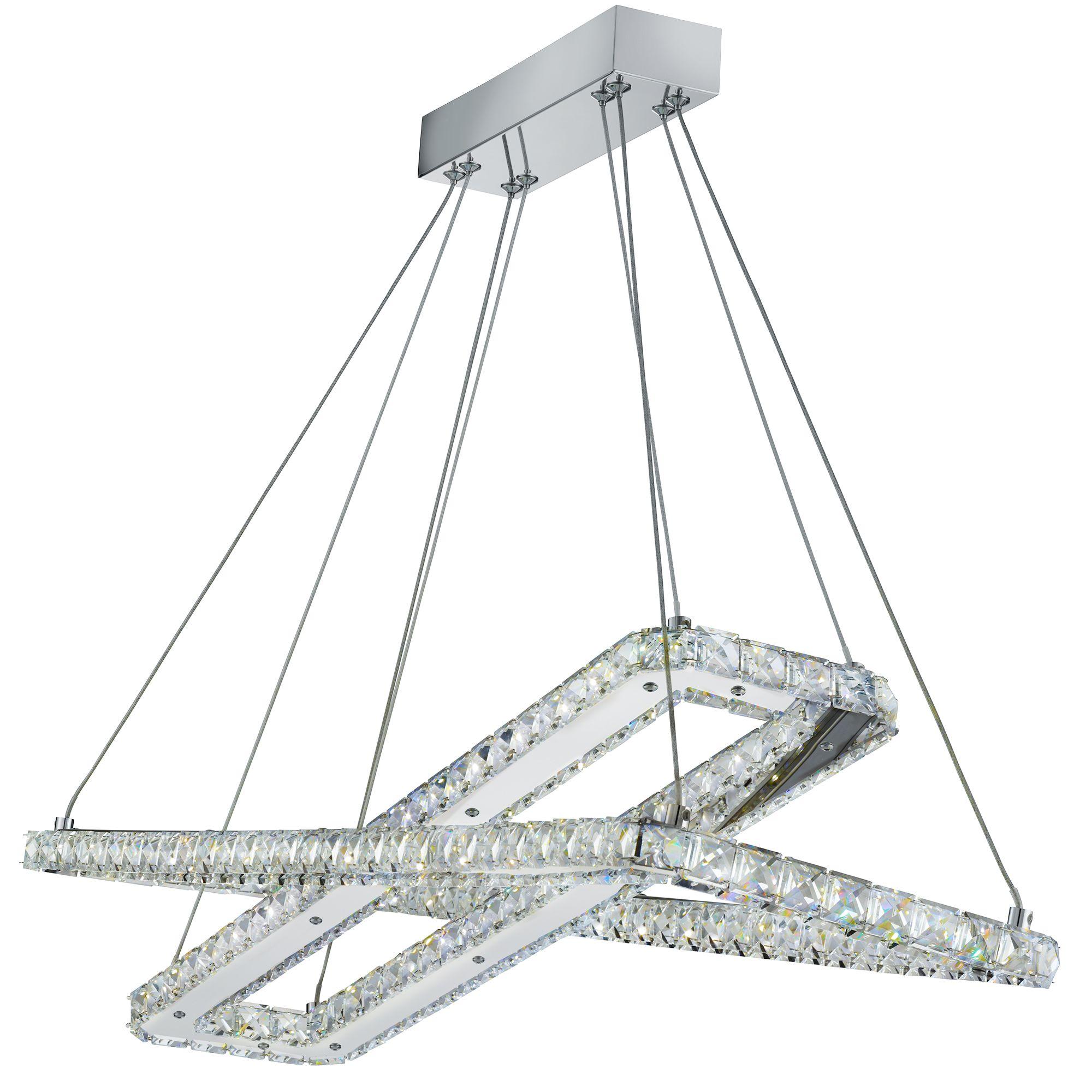 Searchlight Clover kristály lámpa
