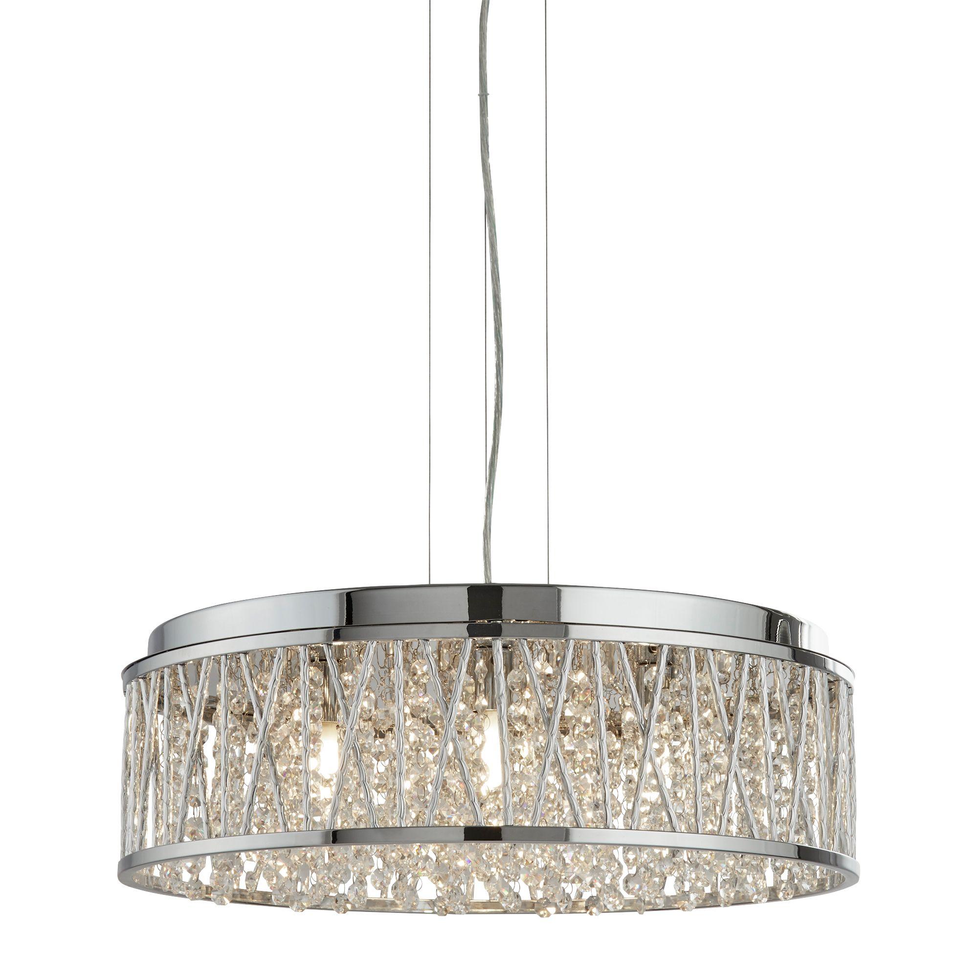 Searchlight Elise kristály lámpa