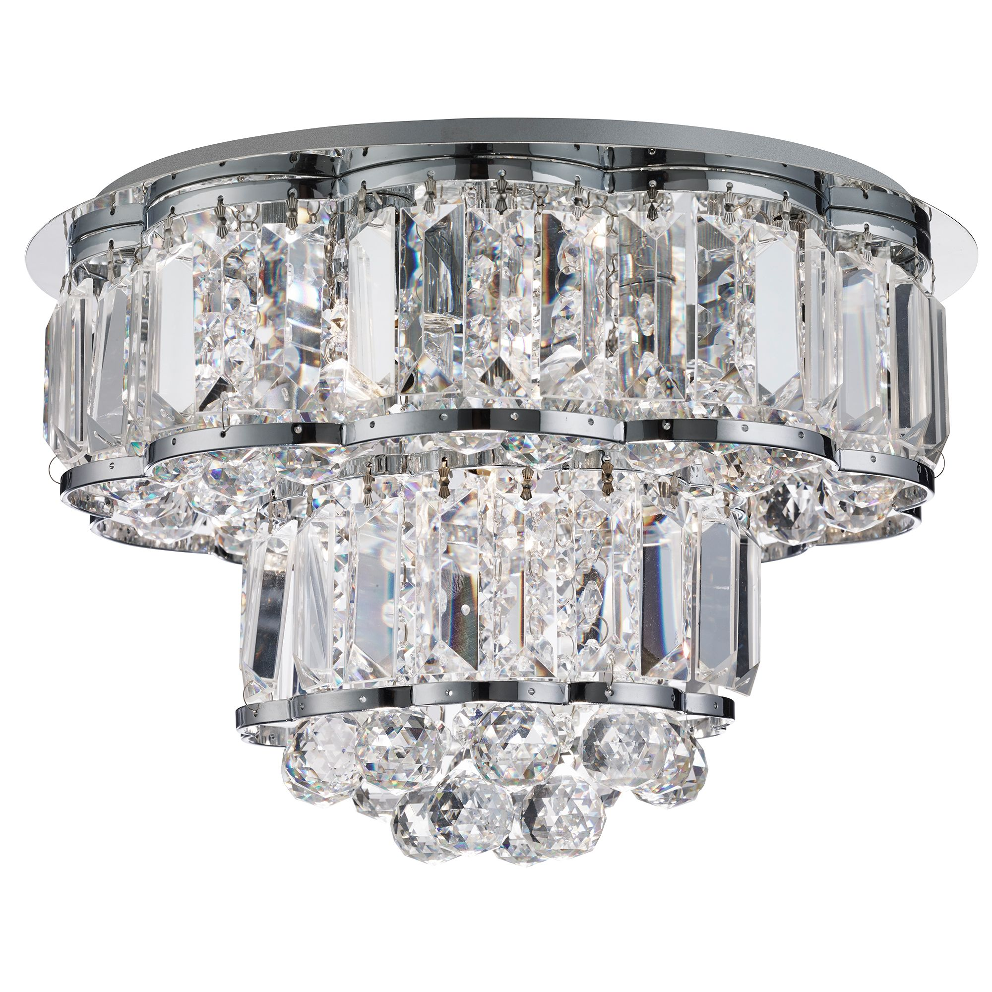 Searchlight Hayley kristály lámpa