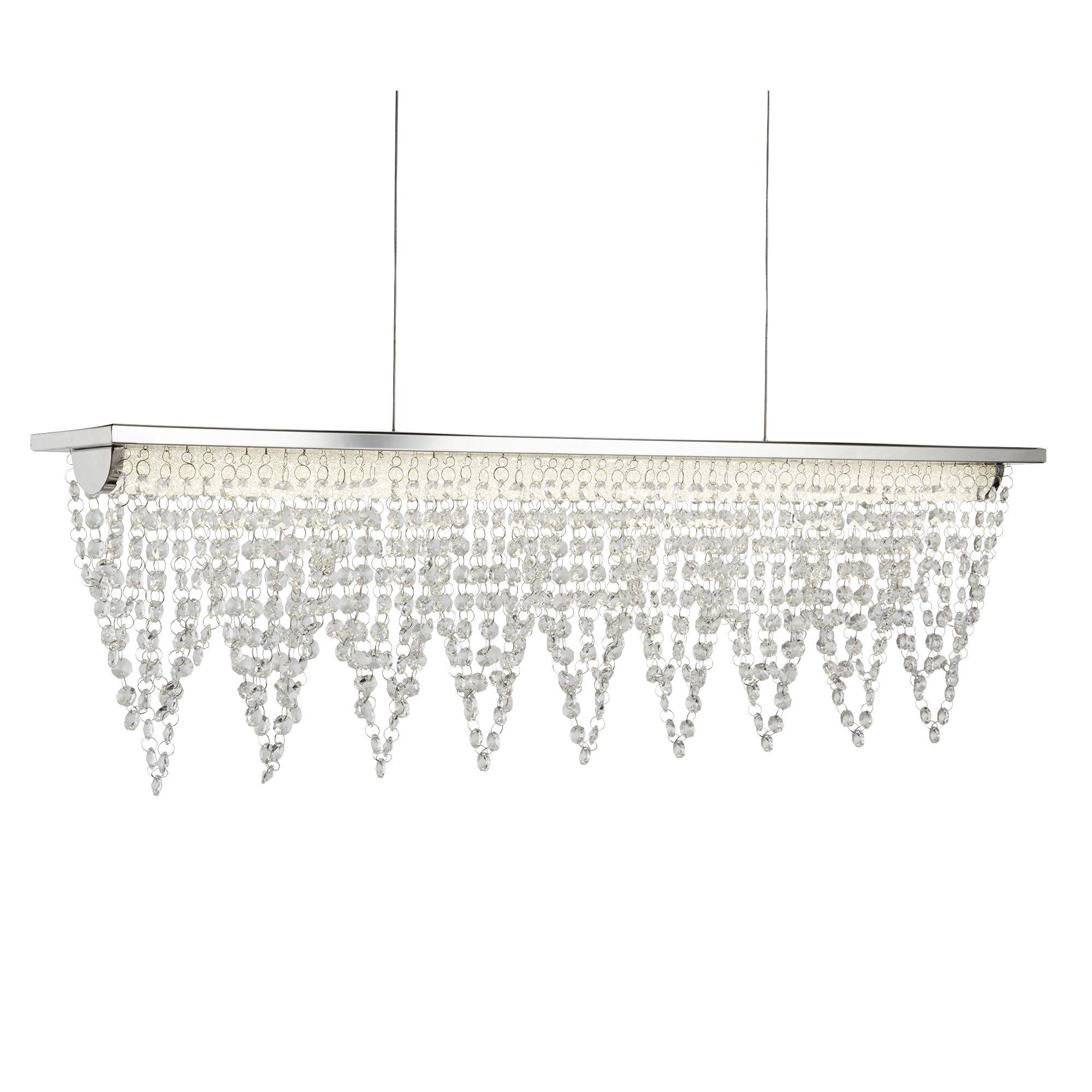 Searchlight Drape kristály lámpa