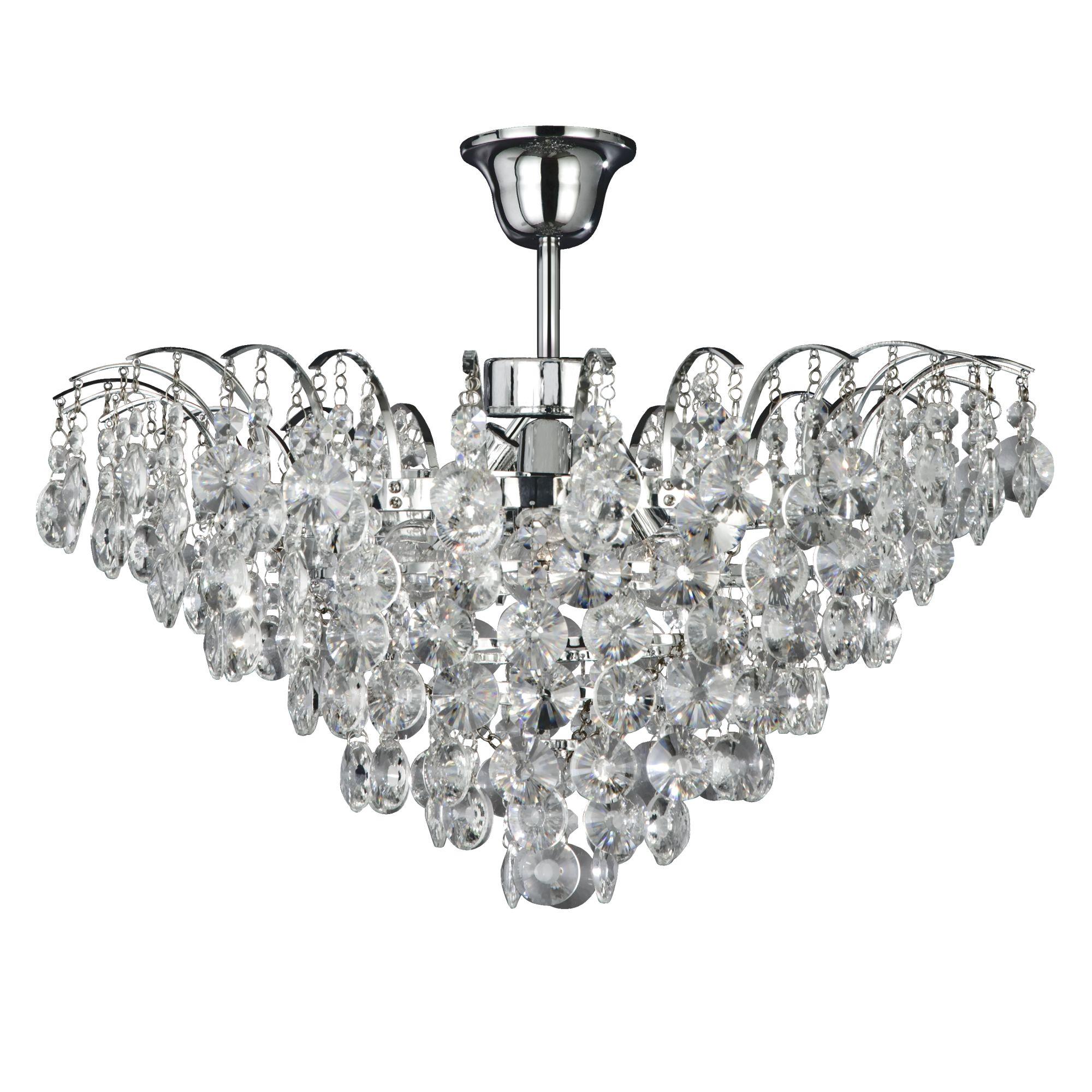 Searchlight Limoges kristály lámpa