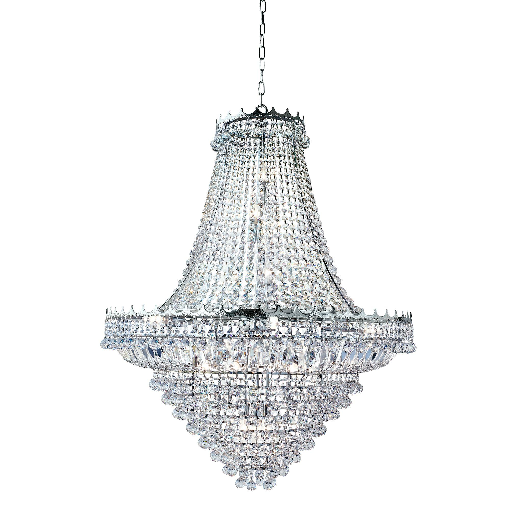 Searchlight Versailles kristály lámpa