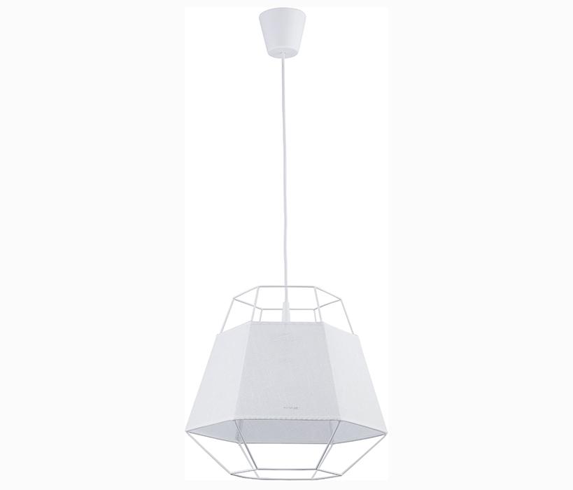 TK Lighting Cristal White függeszték