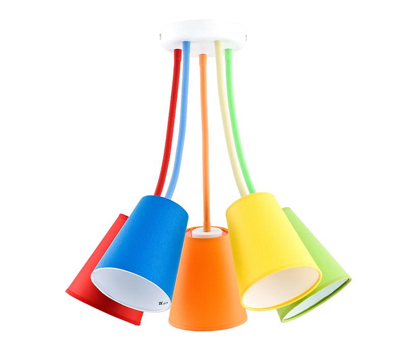 TK Lighting Wire Colour gyermek mennyezeti lámpa