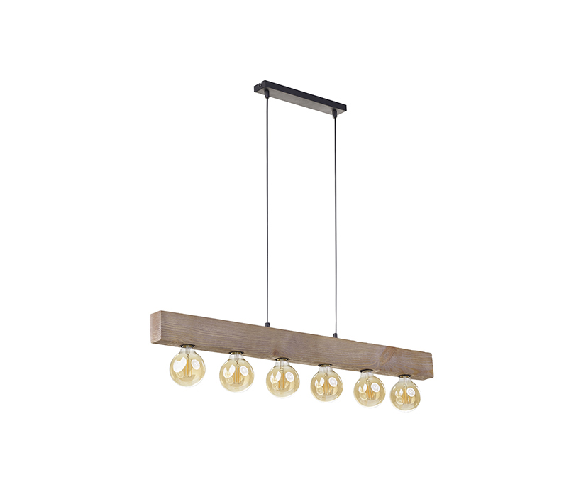 TK Lighting Artwood New függeszték
