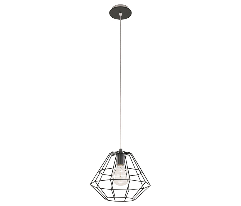 TK Lighting Diamond Black függeszték