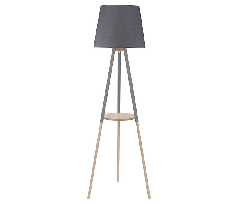 TK Lighting Vaio Gray állólámpa